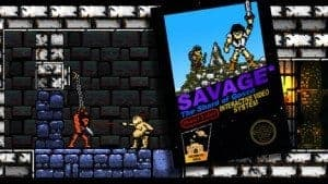 Savage The Shard of Gosen - Déjà vu mais sympa le coup de la pochette NES