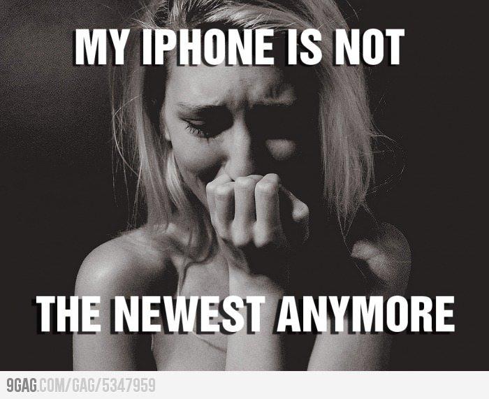 Fan Apple - Moment difficile à la sortie d'un nouveau modèle