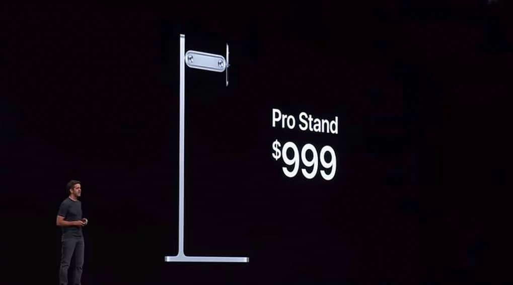 Un pied d'écran à 1000€, c'est un lundi pour un fan Apple