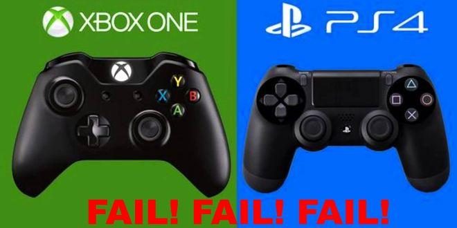 PS4 vs XboxOne : génération de la loose