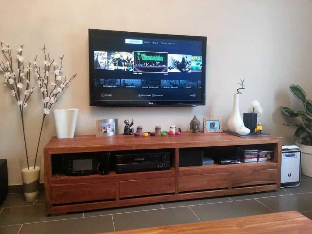 Pc Salon - Mon installation salon avec le PC