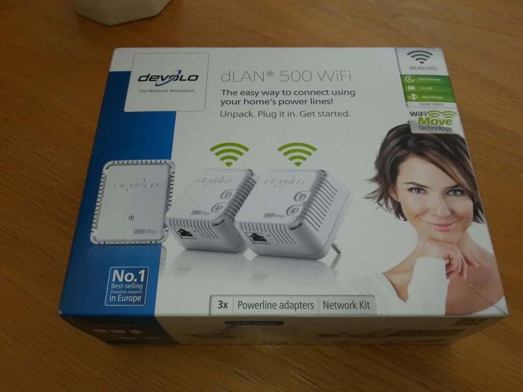 Devolo dLan 500 Wifi : Le packaging