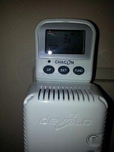 Devolo dLan 500 Wifi : 3,7 Watts mesurés à la prise