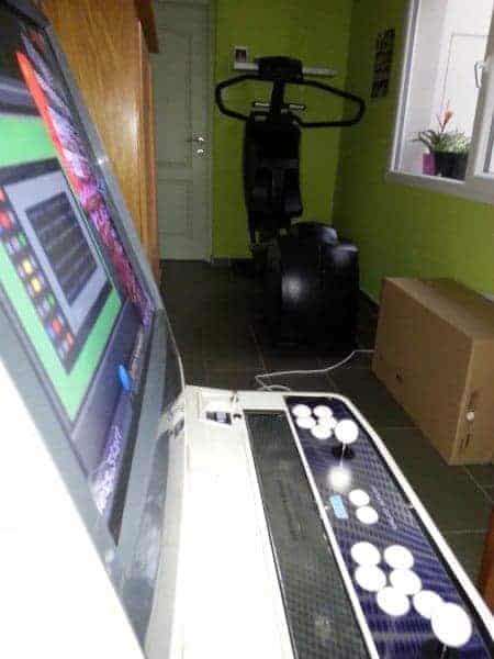 Sega New Net City - En place dans la salle de sport