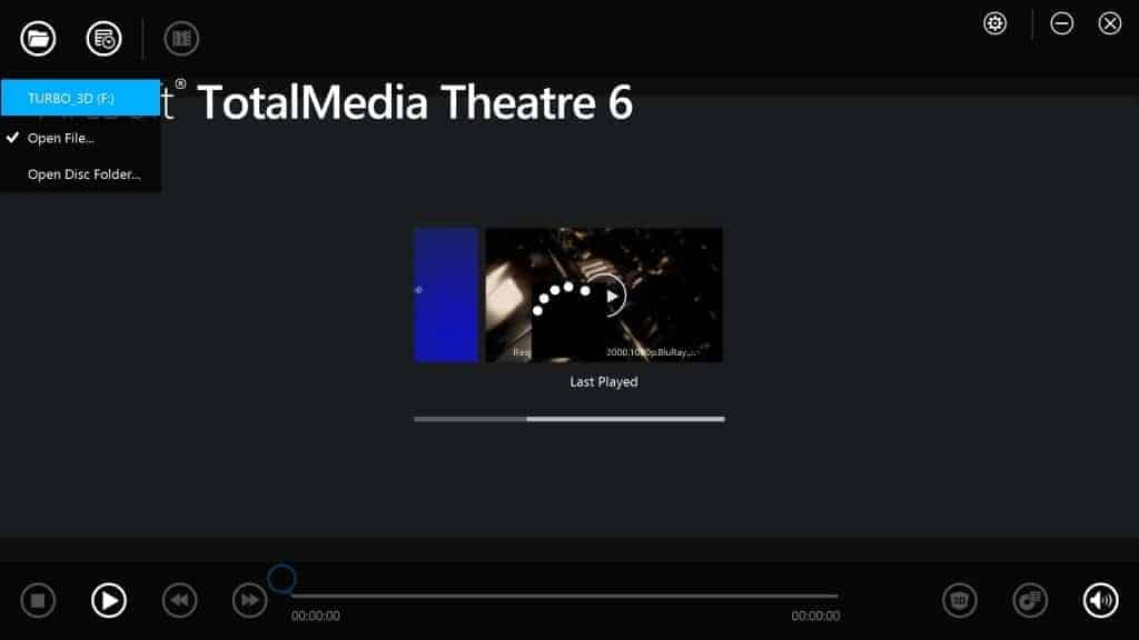 TotalMedia Theatre : Le Look Windows Modern UI