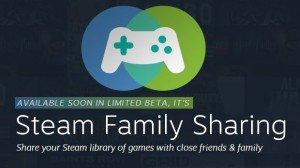 Le partage de jeu sur Steam c'est maintenant possible