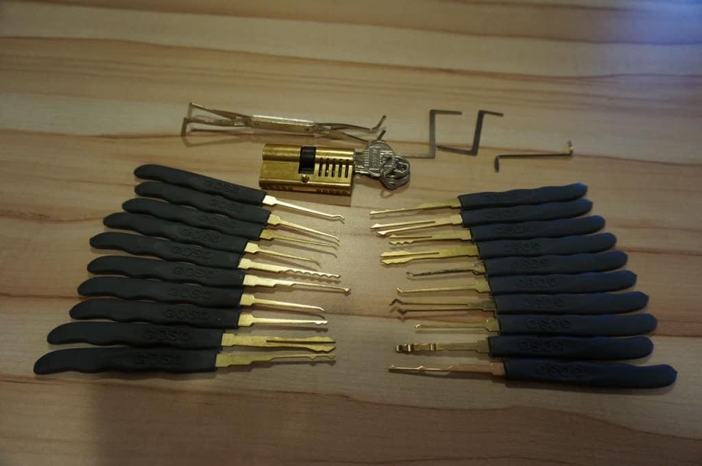 Crocheter une serrure - le bon équipement pour commencer dans le lockpicking