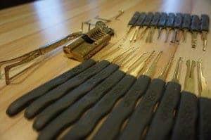 Lock picking - Mon kit de crochets