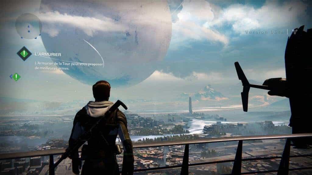 La vue depuis la Tour est magnifique