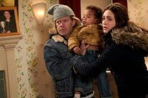 Shameless - Frank , Liam et Fiona en pleine dispute