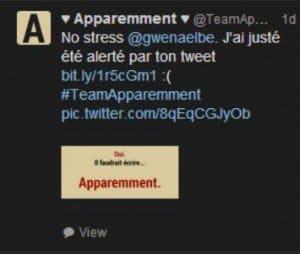 Twitter - Apparemment