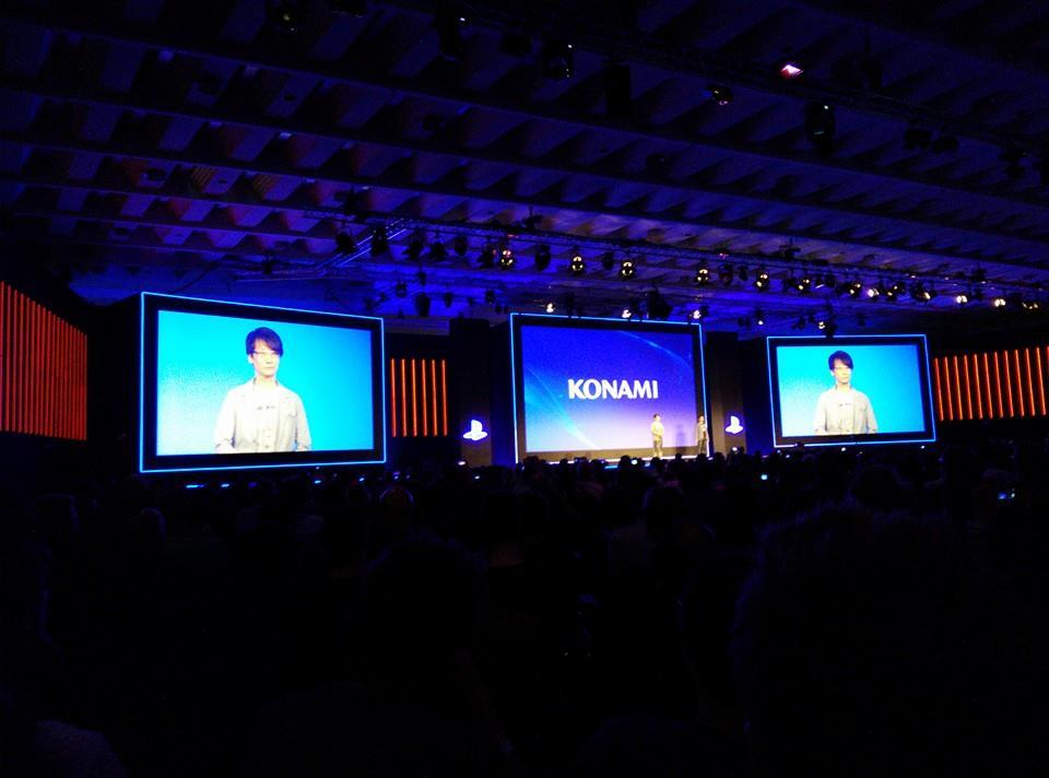 Gamescom 2014 : Conférence Sony avec Kojima