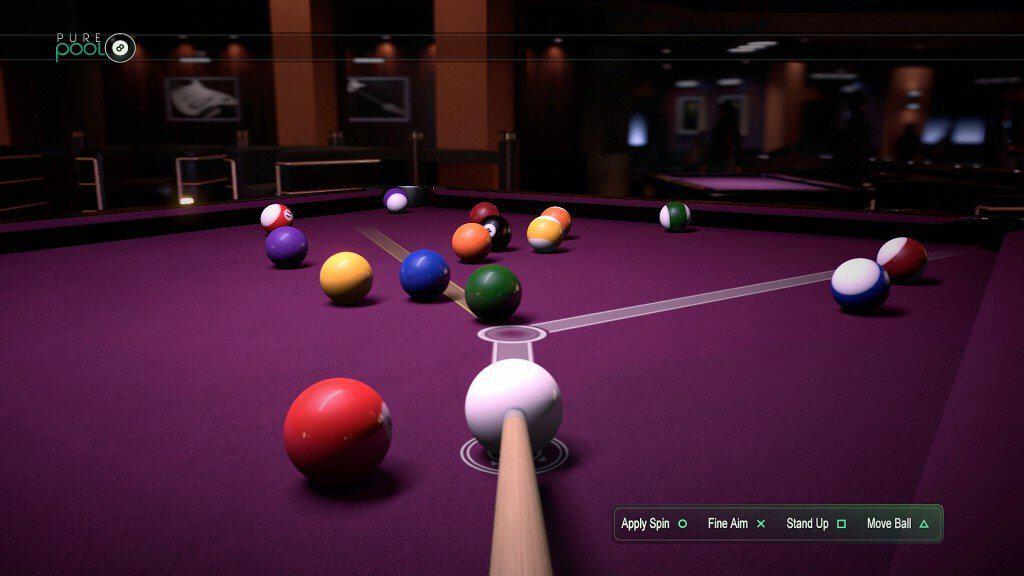 Pure Pool - Un système de jeu éfficace