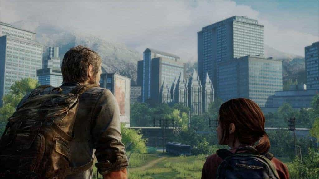 The last of us  remastered - La nature reprend ses droits sur une ville dévastée
