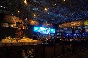 Gamescom 2014 : Le stand Blizzard
