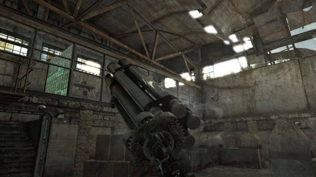 Metro Redux : Les armes artisanales craftées ont de la gueule.
