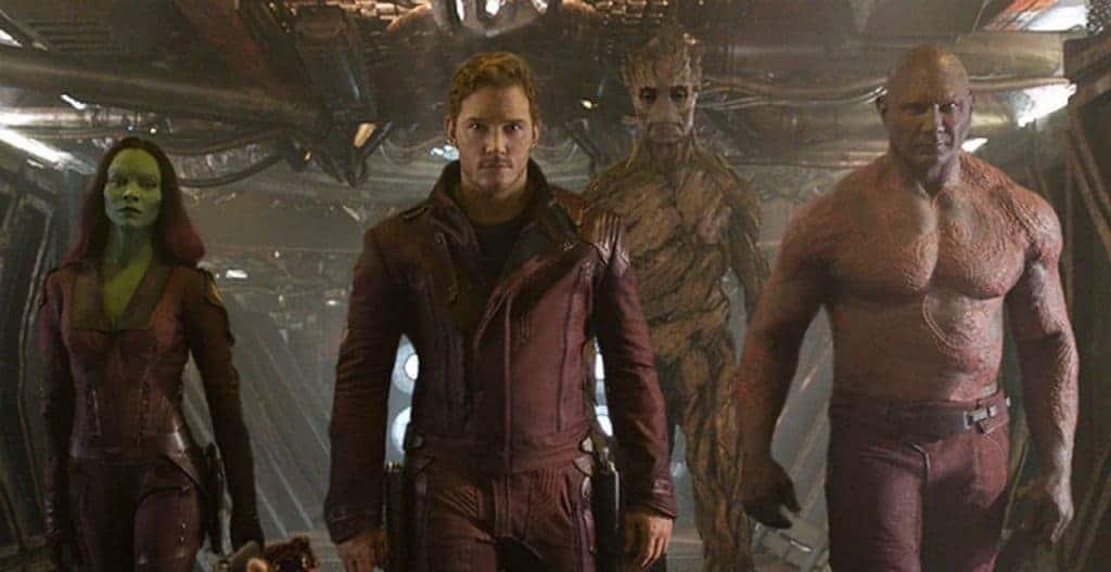 Les gardiens de la galaxie - Les protagonistes
