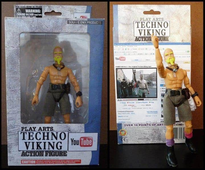 Techno Viking - Les figurines improbables