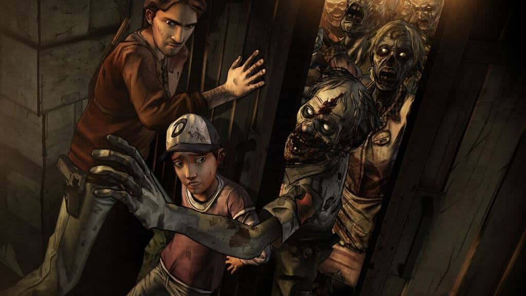 The Walking Dead Pinball - La table reprend les personnages du jeu