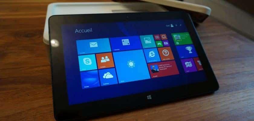 Dell Venue Pro 11 sous Windows 8