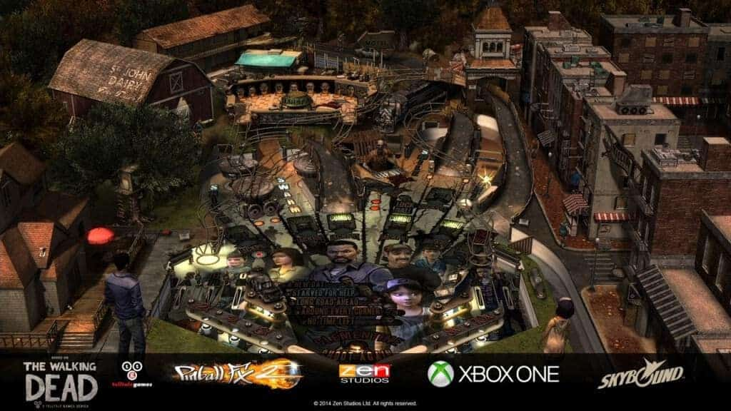 The Walking Dead Pinball -  Une table simple et complexe à la fois.