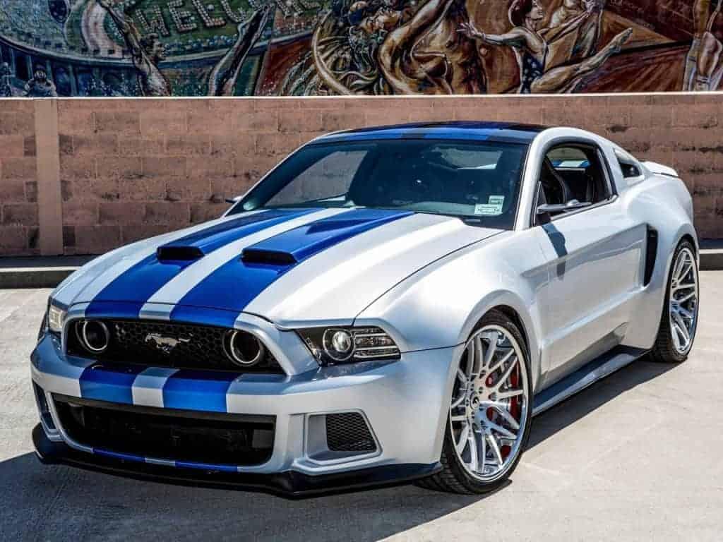 Need For Speed - La Shelby GT 500 véritable star du film