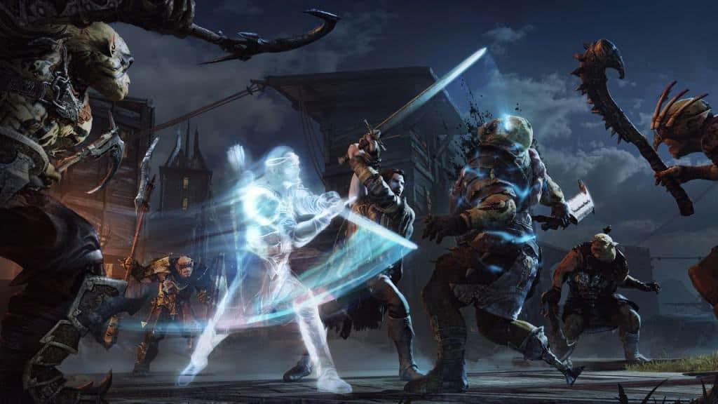 L'ombre du Mordor - voyage entre les mondes avec le mode spectre
