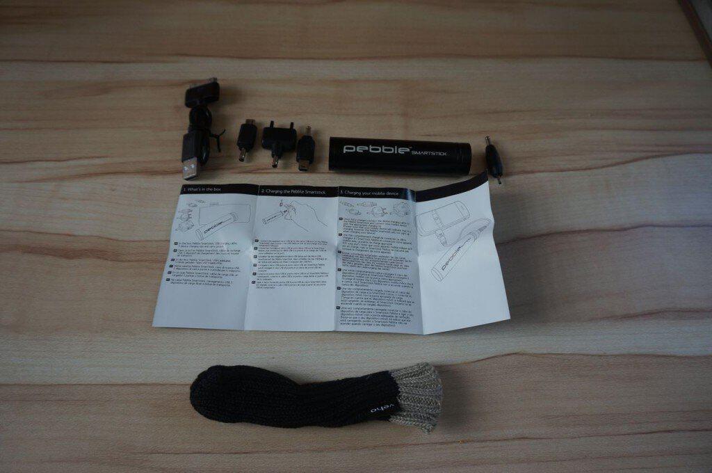 Veho Pebble Smartstick - Le contenu du pack
