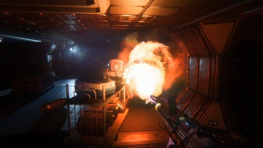 Alien Isolation - L'ambiance sonore et les effets permettent une immersion totale