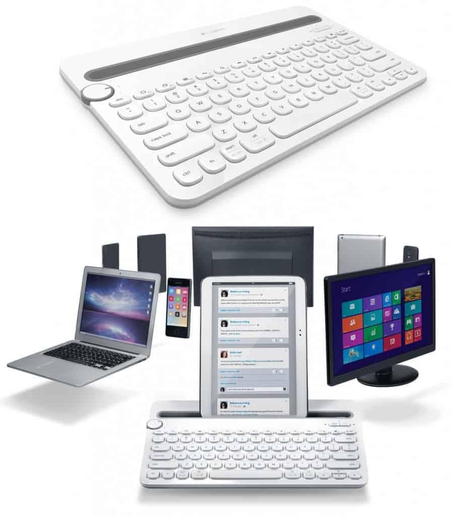 Logitech K480 - Utilisable sur tous vos appareils