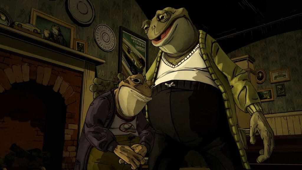 Je suis une gentille grenouille, tu ne me croiiiiiis pas