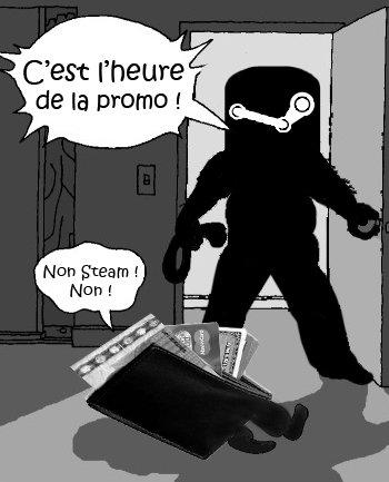 Promo-Steam - Votre porte feuille n'en peut plus !