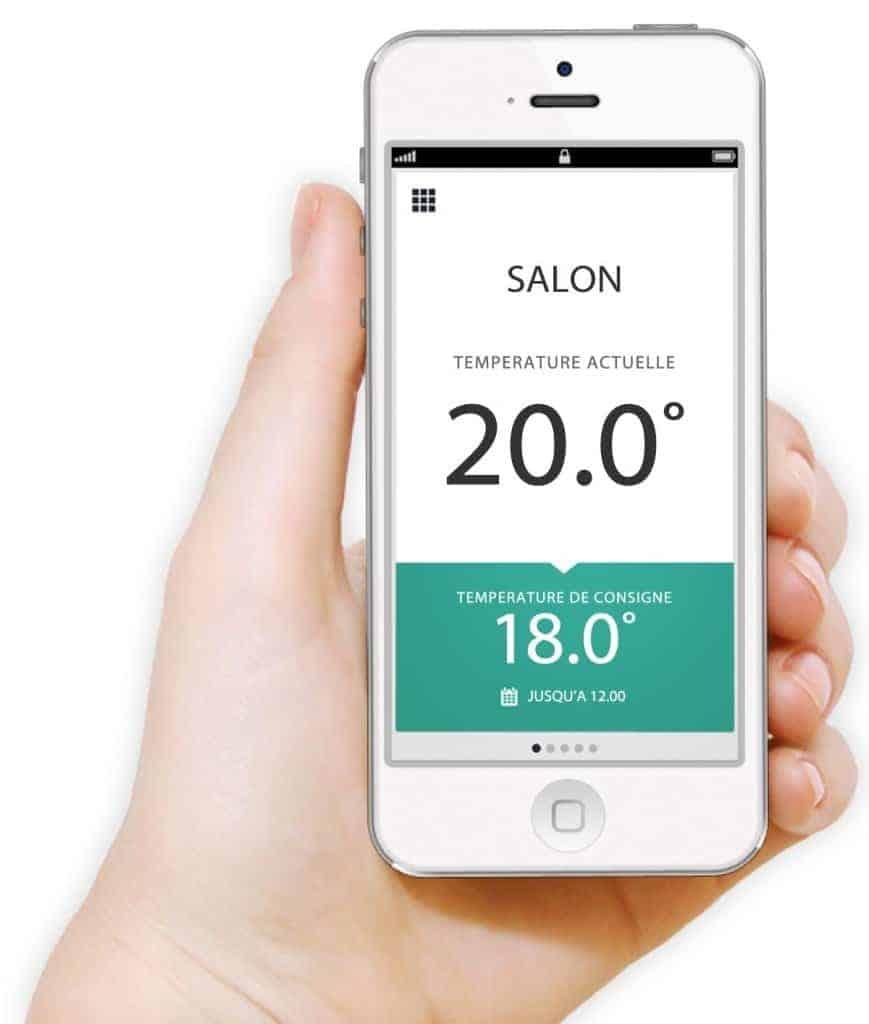 EvoHome - L'application smartphone permet de gérer votre installation depuis n'importe ou