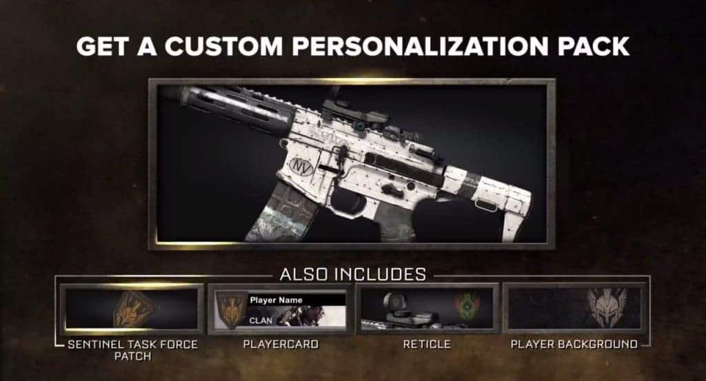 Call of Duty: Advanced Warfare - La personnalisation est bien sur de mise