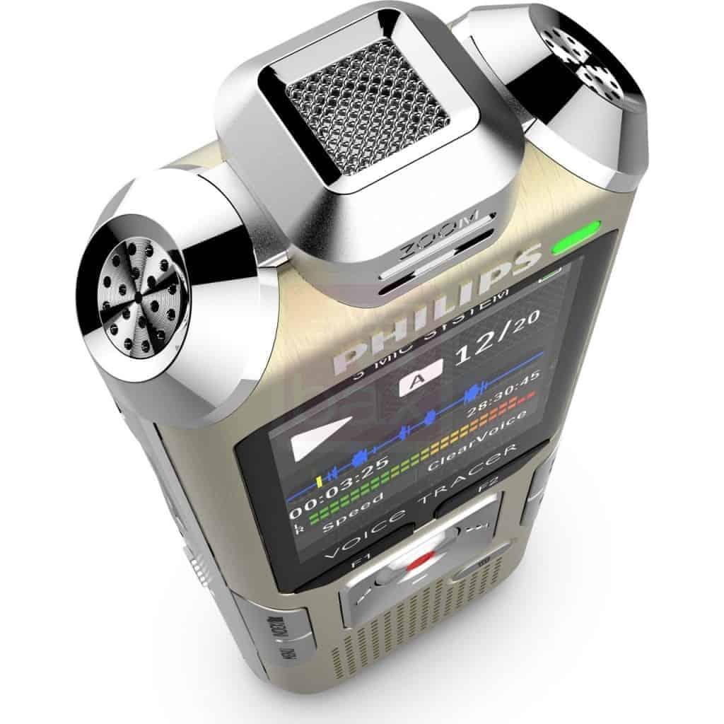 Philips Voice Tracer - 3 micros Hi-Fi pour fournir un son impéccable