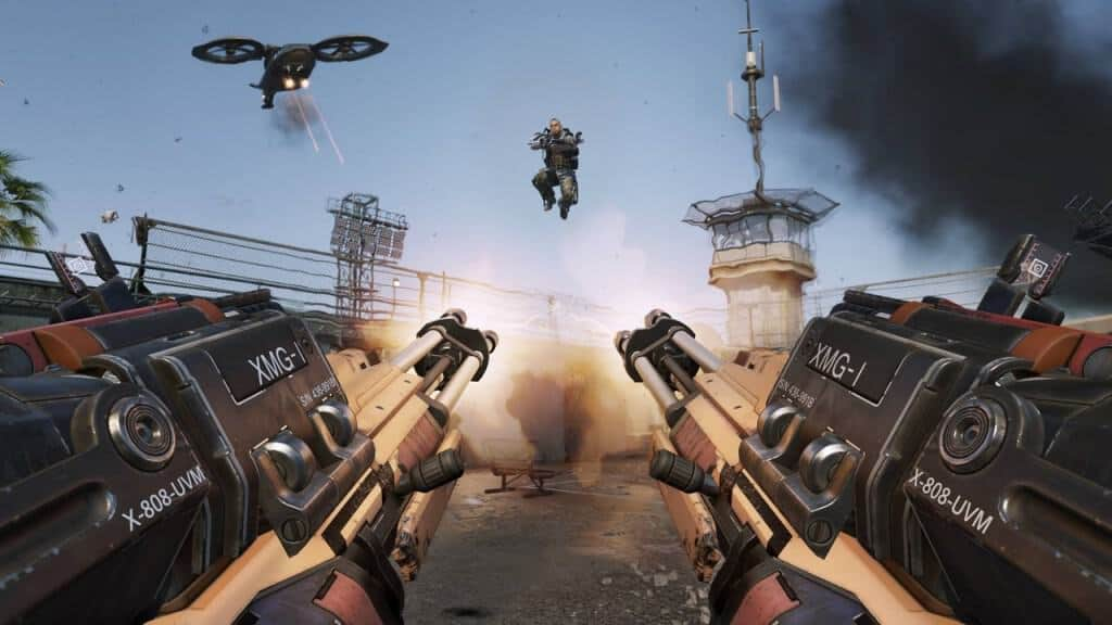 Call of Duty: Advanced Warfare -  Kevin Spacey fait des apparitions remarquées dans la campagne solo