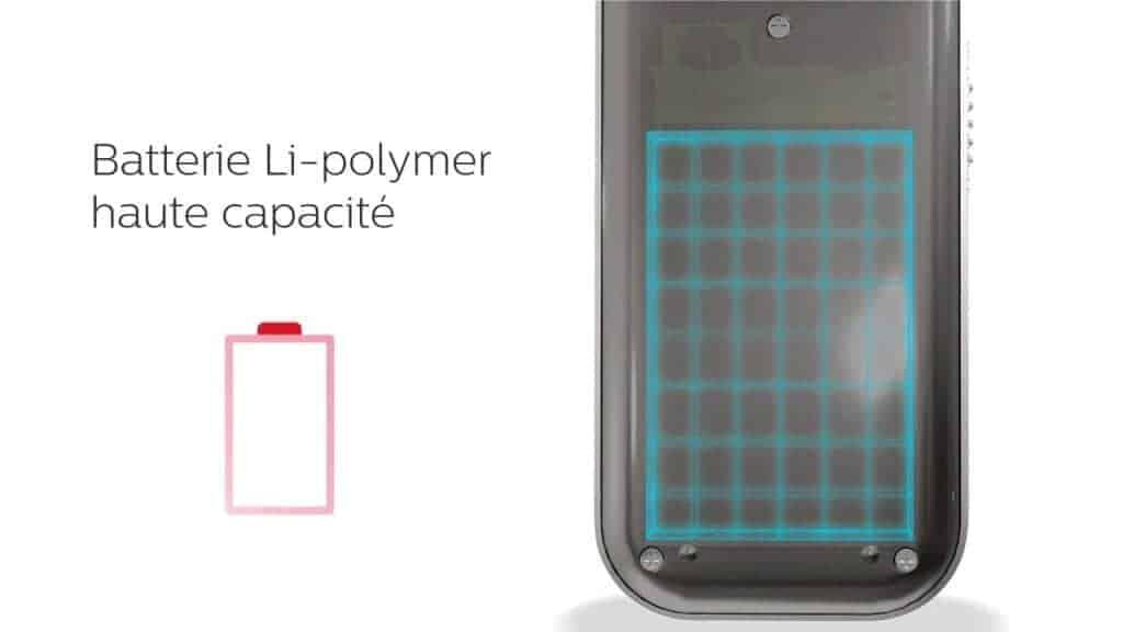 Philips Voice Tracer - Une batterie haute capacité capable de tenir plus de 30 heures