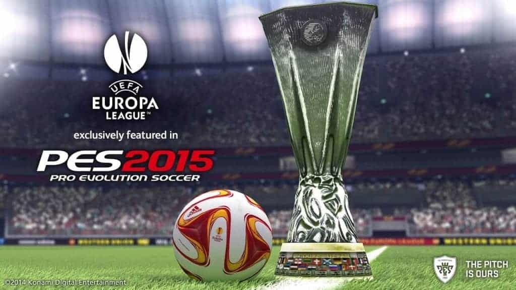 PES 2015 - L'Europa League - Une exclu Konami