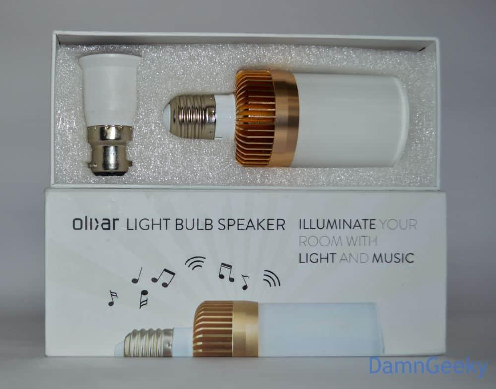 L'ampoule Olixar - Le kit complet
