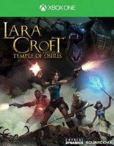 Lara Croft and the Temple of Osiris - XO Box Art