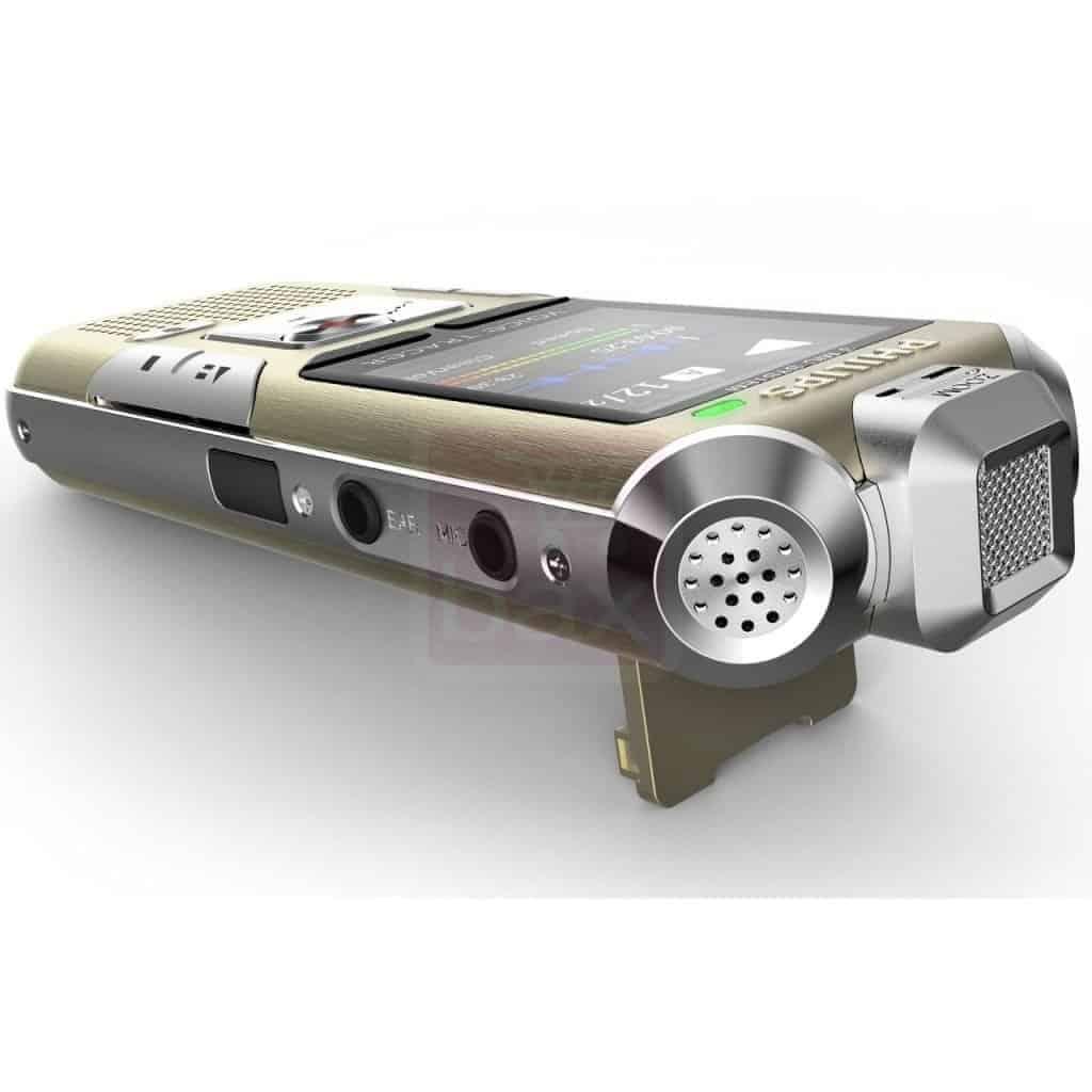 Philips Voice Tracer - Des composants de bonne facture