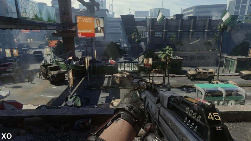 Call of Duty: Advanced Warfare - Techniquement impréssionnant