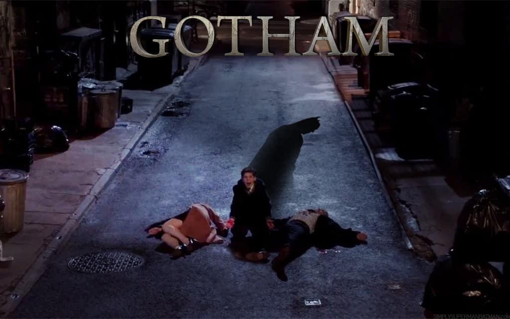 """La mort des parents de Bruce Wayne. L'évènement qui donnera naissance au """"Dark Knight"""""""