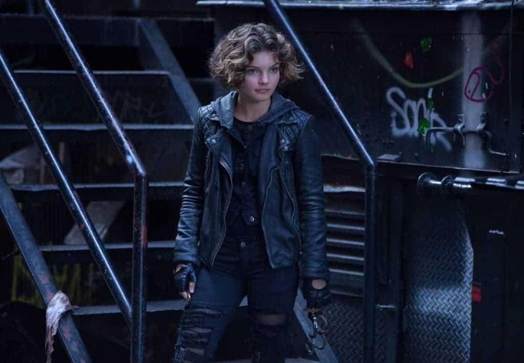 Selina Kyle, la future Catwoman.