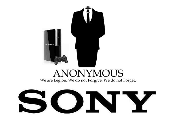 Playstation Plus - Quand les Anonymous passent, Sony trépasse.