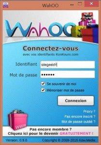 WahOO - Un point d'accès unique aux concours du net