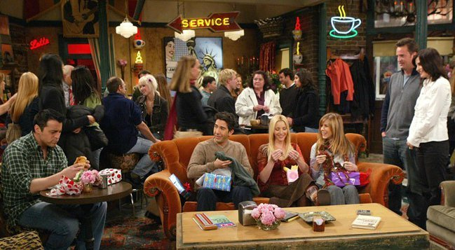 Série Friends - Le célèbre Central Perk de la série Friends