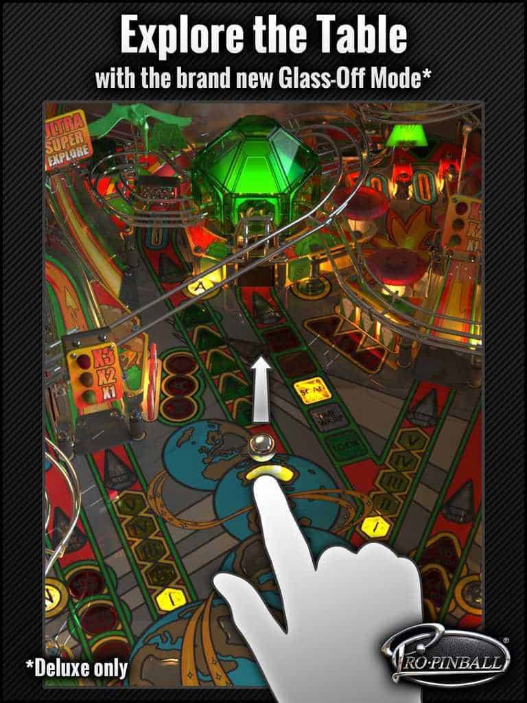 Pro Pinball Timeshock iPad - Explorer la table