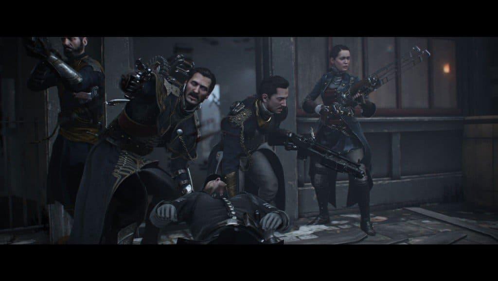 The Order PS4 : L'ambiance réussi flatte l'écran