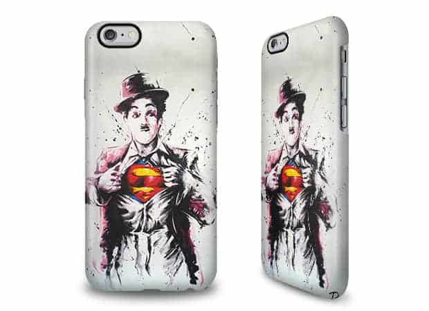 Coque caseable Super Charlie - Originale non?